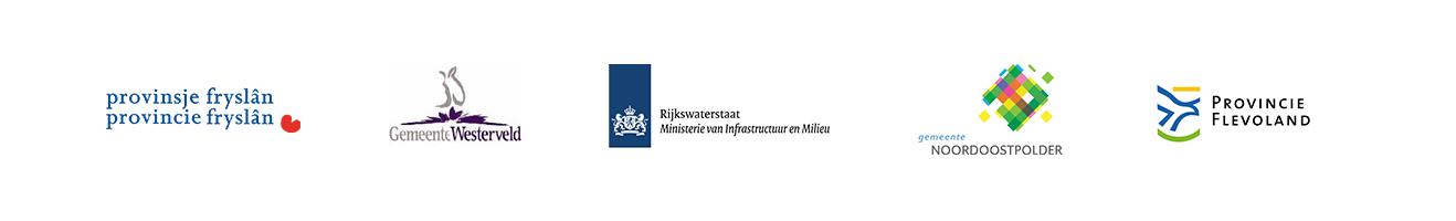 Samen Infra opdrachtgevers gemeente westerveld provincie Fryslan rijkswaterstaat gemeente Noordoostpolder provincie Flevoland